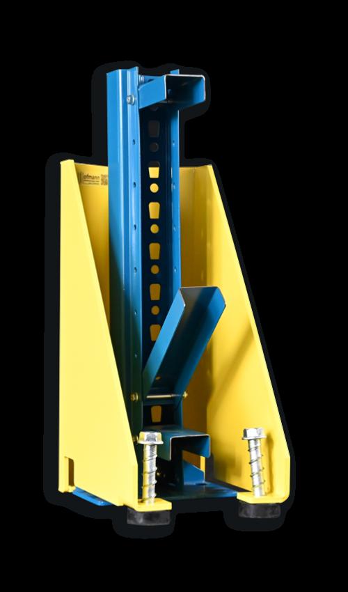 Flexibler Rammschutz | Flexibler Stützenschutz | Lagersicherheit | Hofmann Betriebsmontagen |Rammschutz online